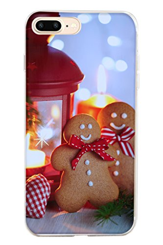 iPhone 7 Plus Phone Case 5.5 Inch PC Cover for Iphone 7 Plus - Christmas Cookies