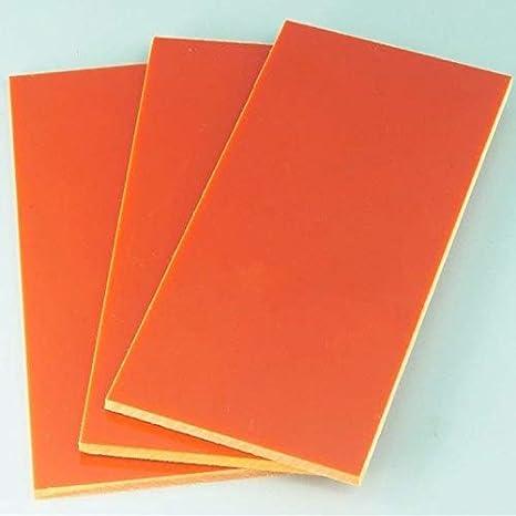 FidgetKute 1pcs Bakelite Phenolic Flat Plate Sheet 2mm x 200mm x 200mm