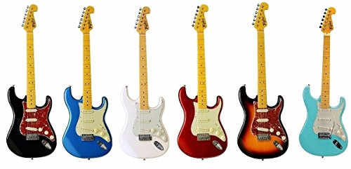 Tagima TG-530 Woodstock Series Strat Style Electric Guitar (Lake Placid -