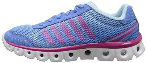 K-Swiss Women's X Lite CMF Athletic Shoe, Little Boy Blue/Clearwater/Beetroot Purple, 8.5 M US