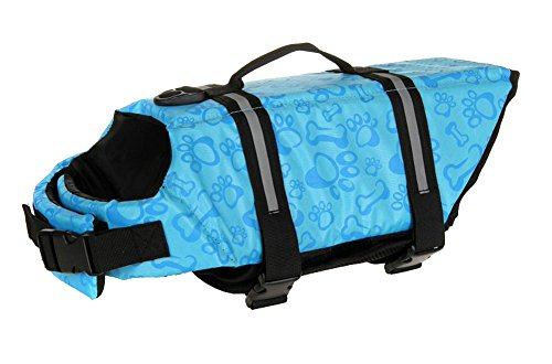 Surblue Dog Life Vest Jacket,Pet Doggy Safety Coat for Swimming,Boating by Surblue