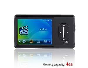 Aneca A-41 4GB 2.4 MP5 Portable Digital Player (Black) + Worldwide free shiping