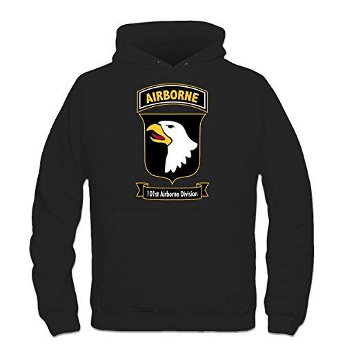 Airborne Hooded Sweatshirt (Shirtcity Airborne 101st Division Hoodie XL Black)