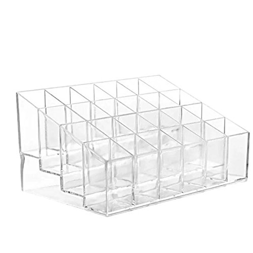 Garrelett Lipstick Display Case Transparent Clear Plastic Display Stand Rack Makeup Organizer Holder for Women Ladies - Buy Online Australia Frames