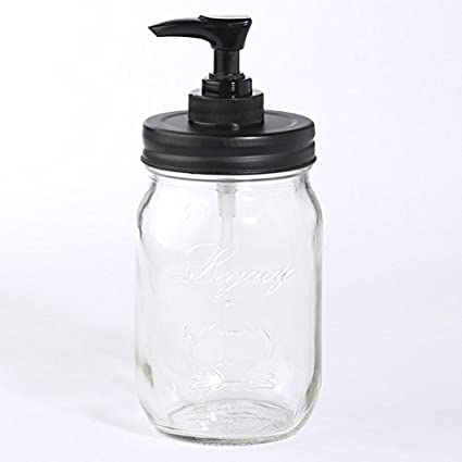 Amazon Decorative Soap Or Lotion Mason Jar Dispenser With Matte Delectable Decorative Lotion Bottles