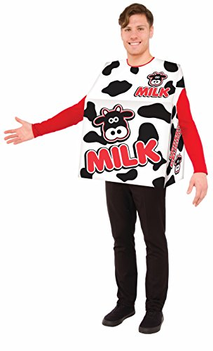 Forum 78378 Men's Milk Costume, Pack of 1 -