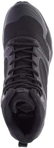 MERRELL Breacher Mid Tactical Wp, Color: Black, Size: 14 (J099537-14)