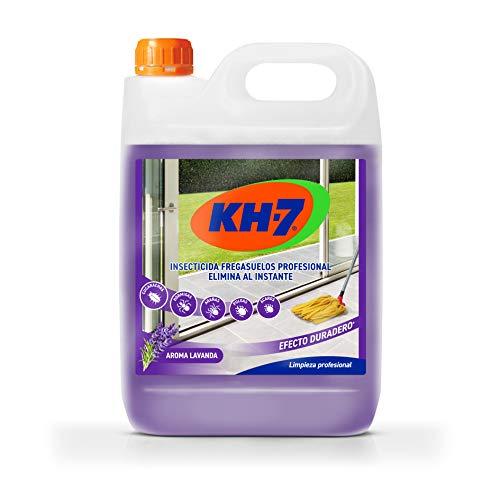 🥇 KH Profesional Desic – Insecticida fregasuelos de efecto preventivo – Fregasuelos perfumado con aroma a lavanda – Anti cucarachas