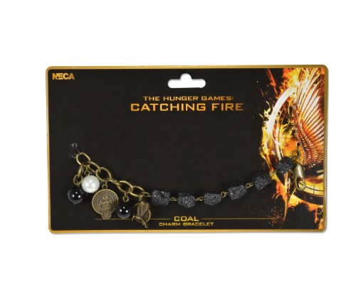 NECA The Hunger Games: Catching Fire Charm Coal Bracelet (The Hunger Games Costumes)