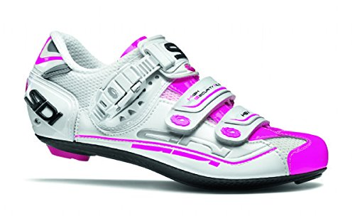 Cycling Pink White Fluo Sidi Genius Women's 7 White Fluo Pink Shoes qzAZt1z