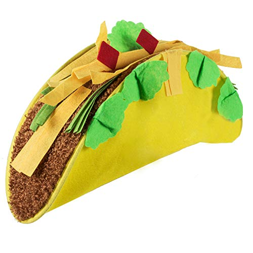 Tigerdoe Taco Costume Hat - Food Costumes - Costume Party Hat- Cinco De Mayo Hats - Fiesta Party -
