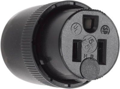 Pass & Seymour 10 Packs 15A 125V BLK Connector ()