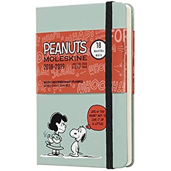 Amazon.com : Moleskine Limited Edition Peanuts 18 Month 2017 ...