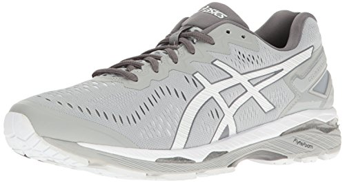 Runners Asics Gel (ASICS Men's Gel-Kayano 23 Running Shoe, Mid Grey/White/Carbon, 8 M US)