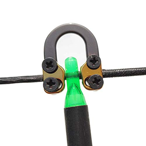 (Ace Hunter Compound Bow Metal D Loop Release Bow String Nock D Ring U Loop String)