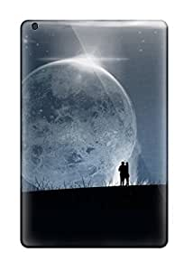 First-class Case Cover For Ipad Mini/mini 2 Dual Protection Cover Couples In Love Moon