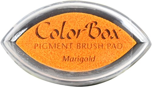 (CLEARSNAP ColorBox Pigment Cat's Eye Inkpad, Marigold)