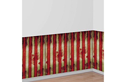 Creepy Carnival Striped Room Roll