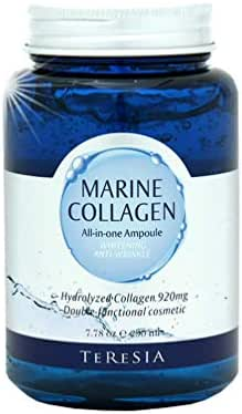 Marine Collagen Cream All In One Ampule, Whitening and Anti Wrinkle Dual Function, 230ml (7.8oz)