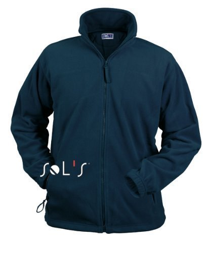 Sols Fleecejacke Fleece Jacke North bis Gr. 5XL Red XL