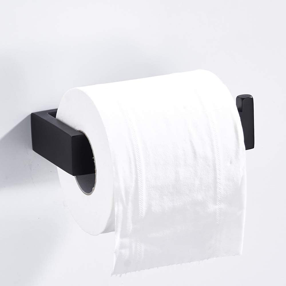 Leyden Brushed Towel Ring Towel Holder SUS 304 Stainless Steel Towel Ring Wall Mount Rustproof Towel Rack Squqre Towel Ring