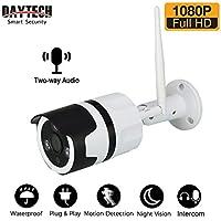 Home Security Camera Outdoor, 1080P IP66 Waterproof, 2-Way Audio Wireless Surveillance Security Camera, Outdoor Camera…