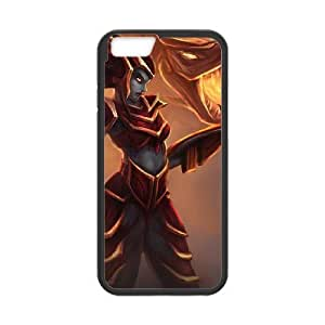 iphone6 plus 5.5 inch phone case Black Shyvana league of legends AAA6273619