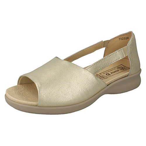 DB 'Sardinia' Women's Beige Leather Sandals(4E Wide)