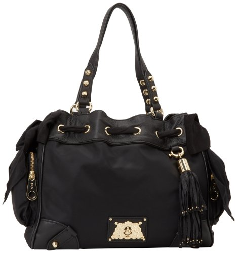 Juicy Couture Daydreamer-01 YHRU3350 Shoulder Bag,Black,One Size, Bags Central