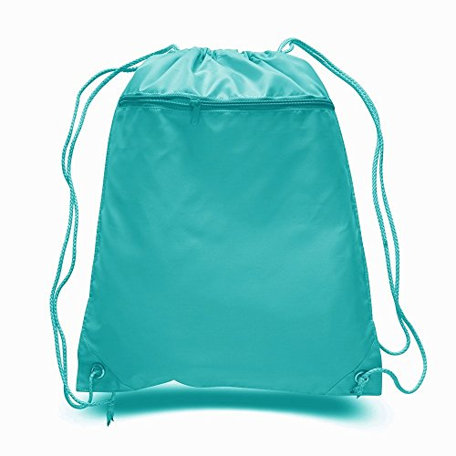 Turquoise And Black Diaper Bag - 2