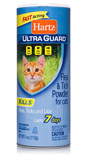 Hartz UltraGuard Flea & Tick Powder for Cats