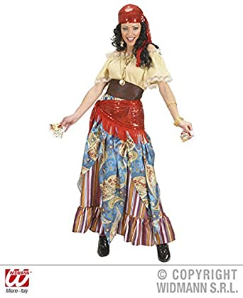 081e7aa8be XL Ladies FORTUNE TELLER Costume for Gypsy Circus Fotune Reader ...