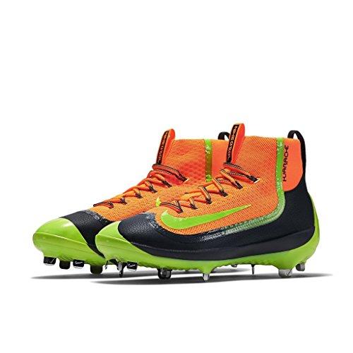 Nike Mænds Luft Huarache 2kfilth Elite Midten Baseball Klampen Samlede Orange / Volt-antracit JOqDw