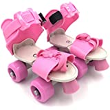 Kid's Children's Adjustable Speed Quad Roller Skates Shoes