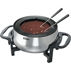 Oster 3-1/2 Quart Fondue Pot with Forks, Stainless Steel | FPSTFN7710