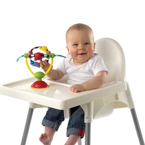 Playgro Spinning High Chair Toy Multicolor