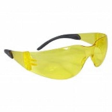 07ac89476aeb 12 Pack Radians Mirage Safety Eyewear MR0140ID Amber - - Amazon.com