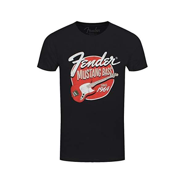 Fender Mustang Bass Since 1964 T-Shirt Black