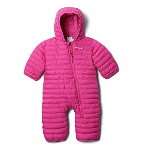 Columbia Baby Powder LiteReversible Bunting, Pink ice, 6/12 (Patagonia Baby Reversible Puff Ball)