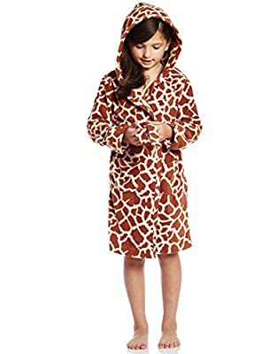 Leveret Girls Printed Fleece Sleep Robe (Size 2-14) Variety of Styles