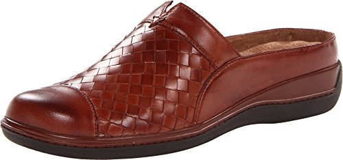 SoftWalk Women's San Marcos Woven Rust Burnished Veg Kid Leather 12 WW ()