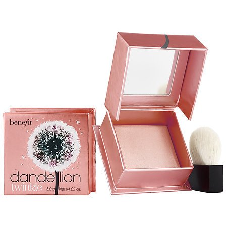 Benefit Cosmetics Dandelion Twinkle Nude Pink Powder Highlighter & Luminizer 0.1 (0.1 Ounce Compact)