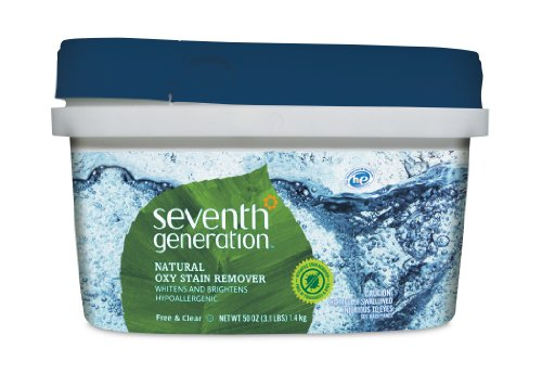 Seventh Generation Natural Oxy Stain Remover, 50 Ounce, Packaging May Vary (Oxy Clean Natural compare prices)