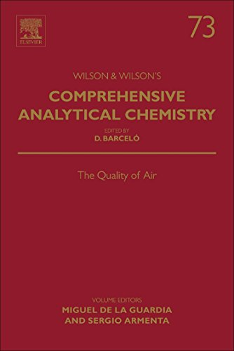 The Quality of Air, Volume 73 (Comprehensive Analytical Chemistry)