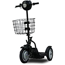 Stand N Ride, Segway Alternative, EV Rider Stand-N-Ride Stand Up 500 Watt 24 Volt Electric 3-wheel Electric Scooter SNR-1000