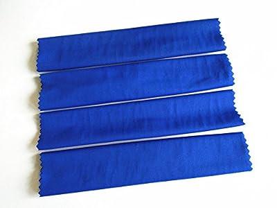 For Traxas 1/5 X-MAXXXX XMAXXXX Shock Damper High Elastic Sleeves Dirt Dust Resist Guard Cover - 4pcs Blue