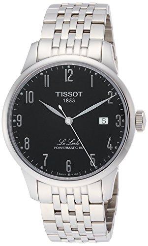 Tissot Le Locle Automatic Black Dial Mens Watch T006.407.11.052.00
