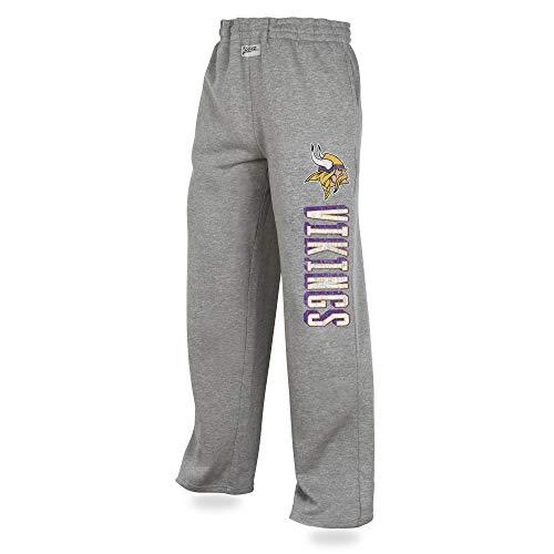 Minnesota Sweatpants - Zubaz NFL Minnesota Vikings Male Sweatpant, X-Large, Gray