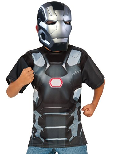 Rubie's Costume Captain America: Civil War - War Machine Child Top and Mask, Large]()