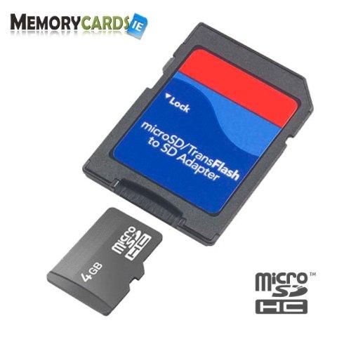 moBa - Tarjeta de memoria Micro SD SDHC de 4 GB compatible ...